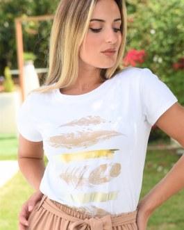 Camiseta estampada 0906