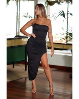 Vestido abierto ajustado 0408