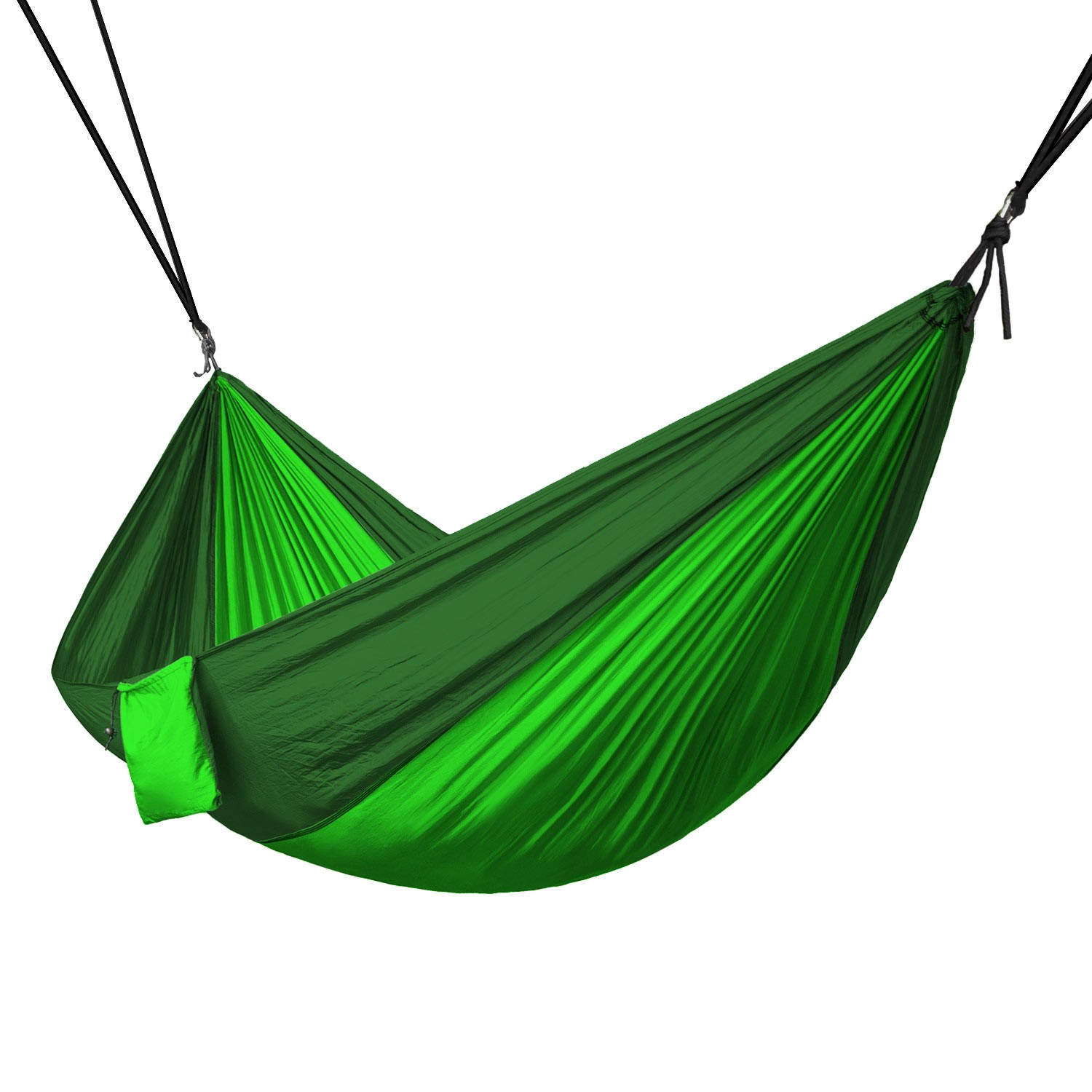 Portable 2 Person Hammock Rope Hanging Swing Camping