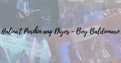 halinat purihin ang diyos chords and lyrics