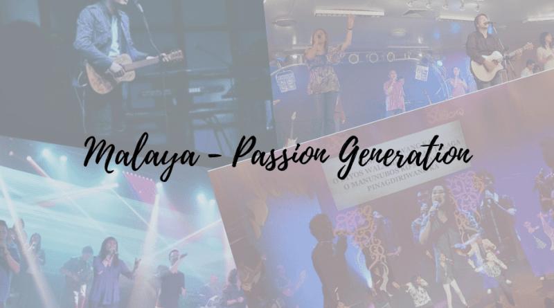 malaya chords passion generation