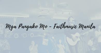 mga pangako mo chords