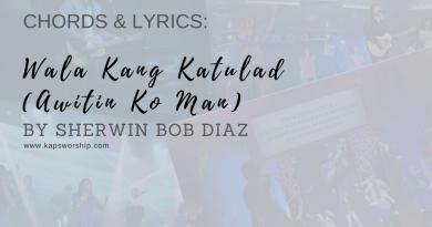 wala kang katulad chords