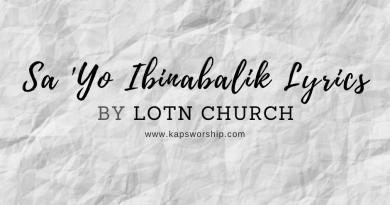 sayo ibinabalik lyrics by lotn church