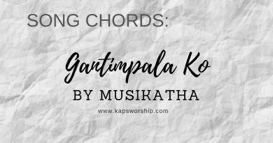gantimpala ko chords