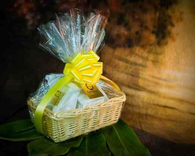 Plumeria Gift Basket
