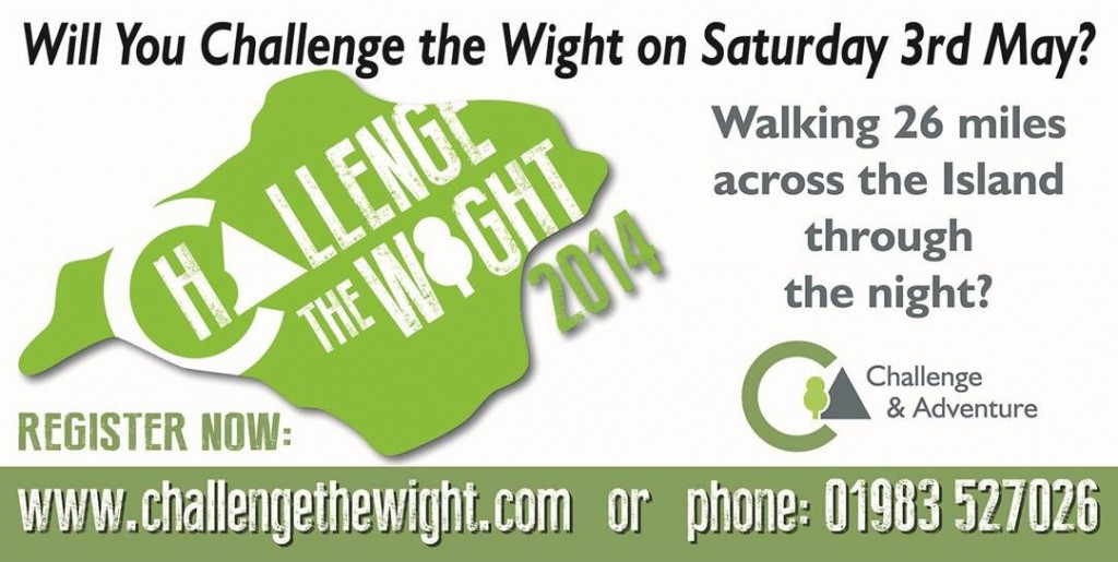 We're supporting Challenge the Wight 2014 – there's still time to enter