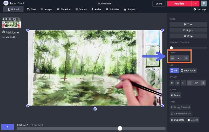 How to Make and Edit a Process Video for Art Projects