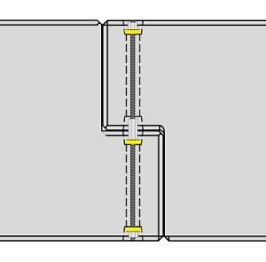 Diagram of two KarabloK's fitting together