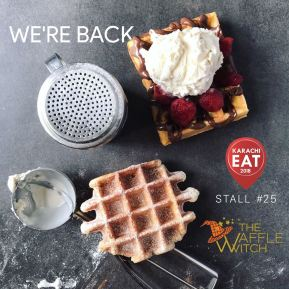 Waffle Witch at at Karachi Eat 2018