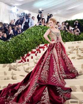 Blake Lively looking surreal and majestic