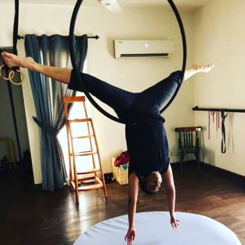 Hoop and Aerial Fitness at FZM