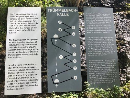 Trummelback Falls Map