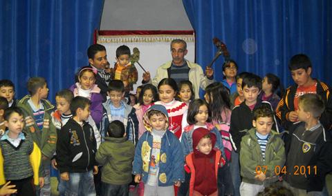 Kahramanmaraş Afşin TAŞ İstiklal İlköğretim okulunda gösterimiz