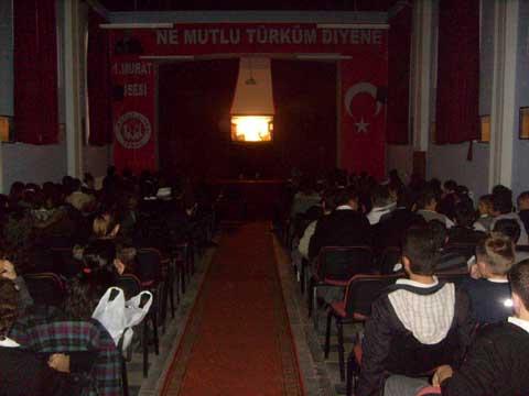 Edirne 1. Murat lisesi karagöz gösterimiz