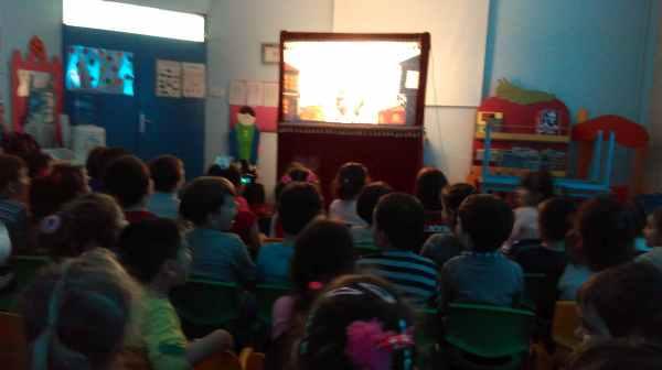 Bartın 7 Eylül Anaokulu Karagöz Gösterimiz