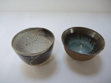 bowl h. 10cm d. 12.5cm bowl h. 8.5cm d.14cm