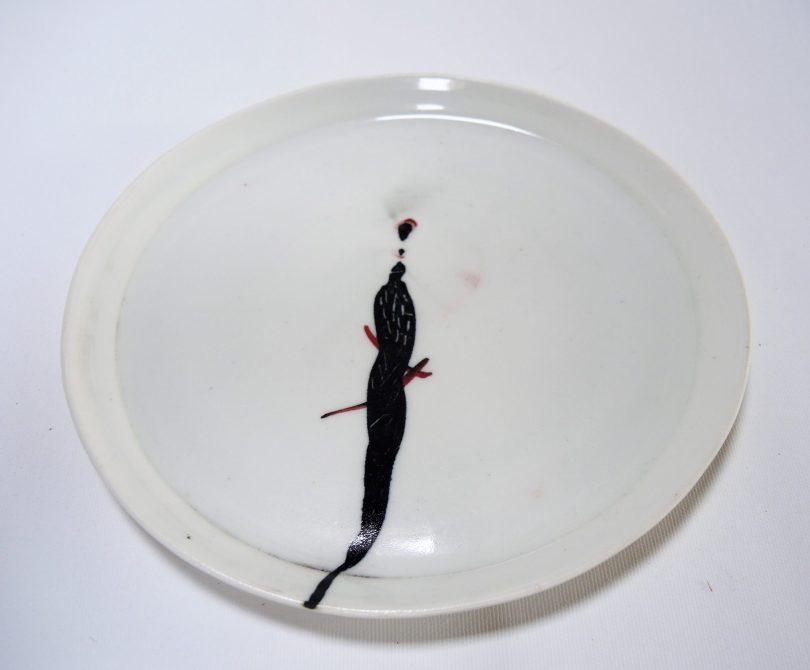 Πιάτα χρήσης stoneware, glaze oxide.