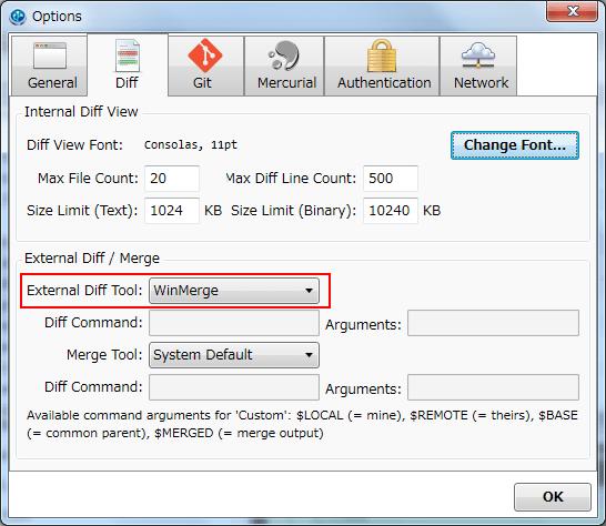 WindowsのGitクライアントSourceTreeのインストールと初期設定