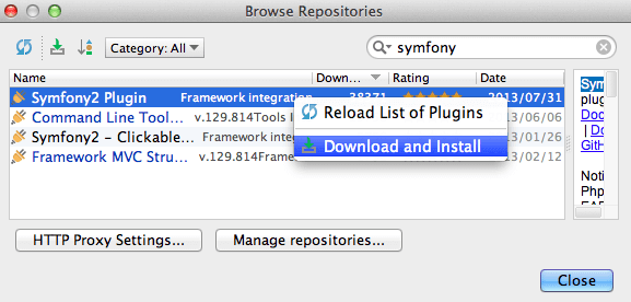 download-symfony2-plugin