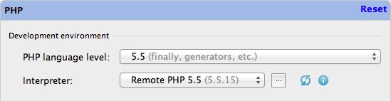 PHP Interpreter 設定OK