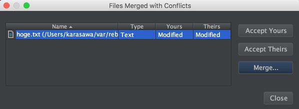 Merge file