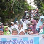 Pawai Ta'aruf Desa Karangmalang Sambut Ramadhan