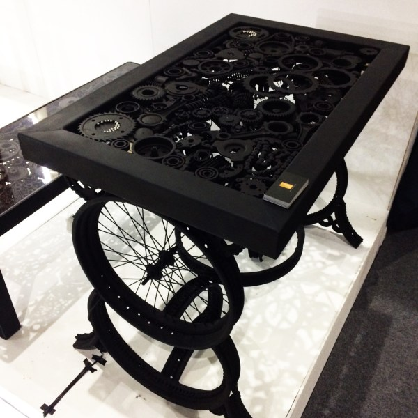 Handcrafted METAL Table Mechanism(Mechanical Stand), Home, Working, Living or Dining Room, 1000-mm or 40-inches, Real Auto Parts