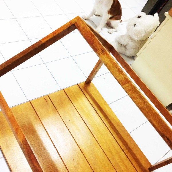 Handcrafted WOOD Cat & Dog House/Pet Shelter(Modern Frame), Indoor Cabin, Comfort Kennel, Natural Wood Pet Cage, 100-1015-mm, 4-40-inch Width