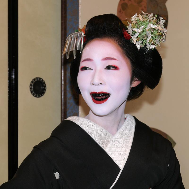 Black Teeth During the Heian Period of Japan