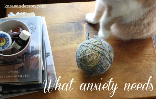 what anxiety needs