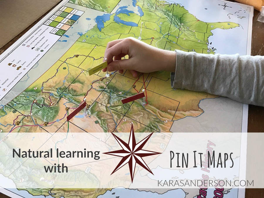 Natural learning with Pin It Maps