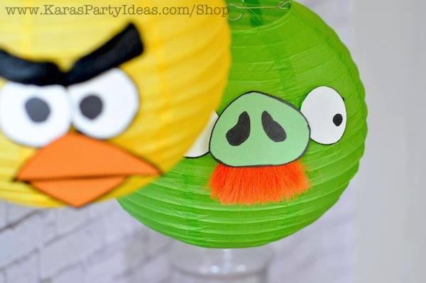 Angry Birds Lantern