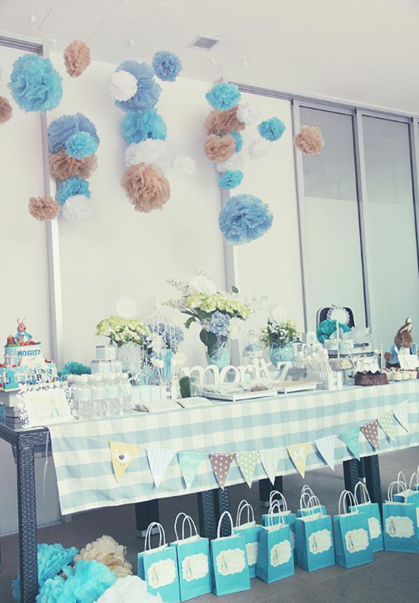 Kara S Party Ideas Peter Rabbit Themed 1st Birthday Party