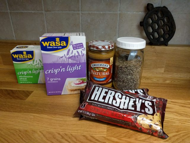 Healthy Nutty Bar Ingredients