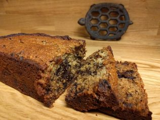 gluten and sugar free lactation banana bread