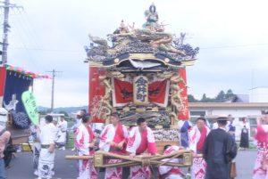 山あげ祭 屋台 金井町