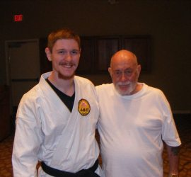 Chuck Merriman Sensei and I