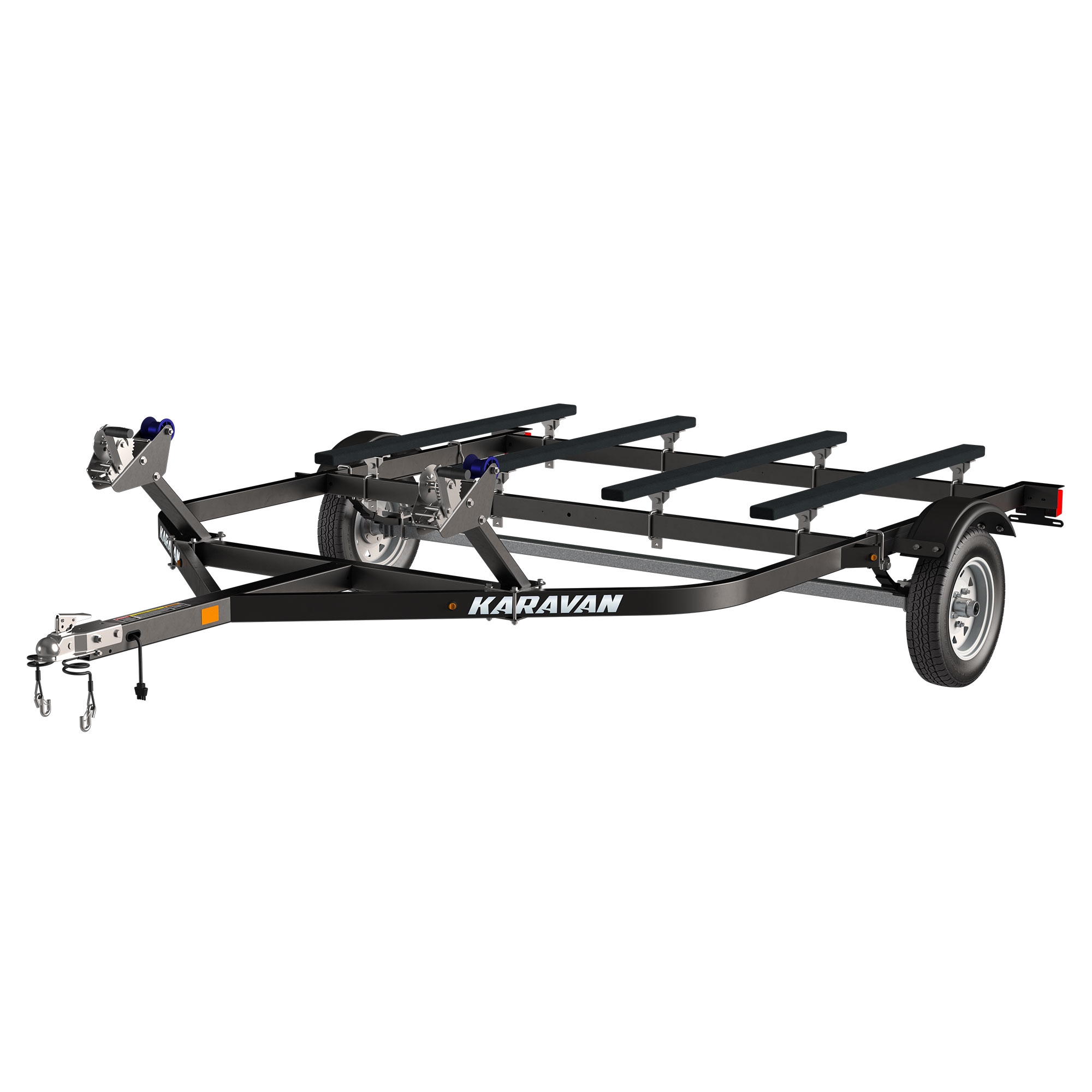 Double Watercraft Steel Trailer