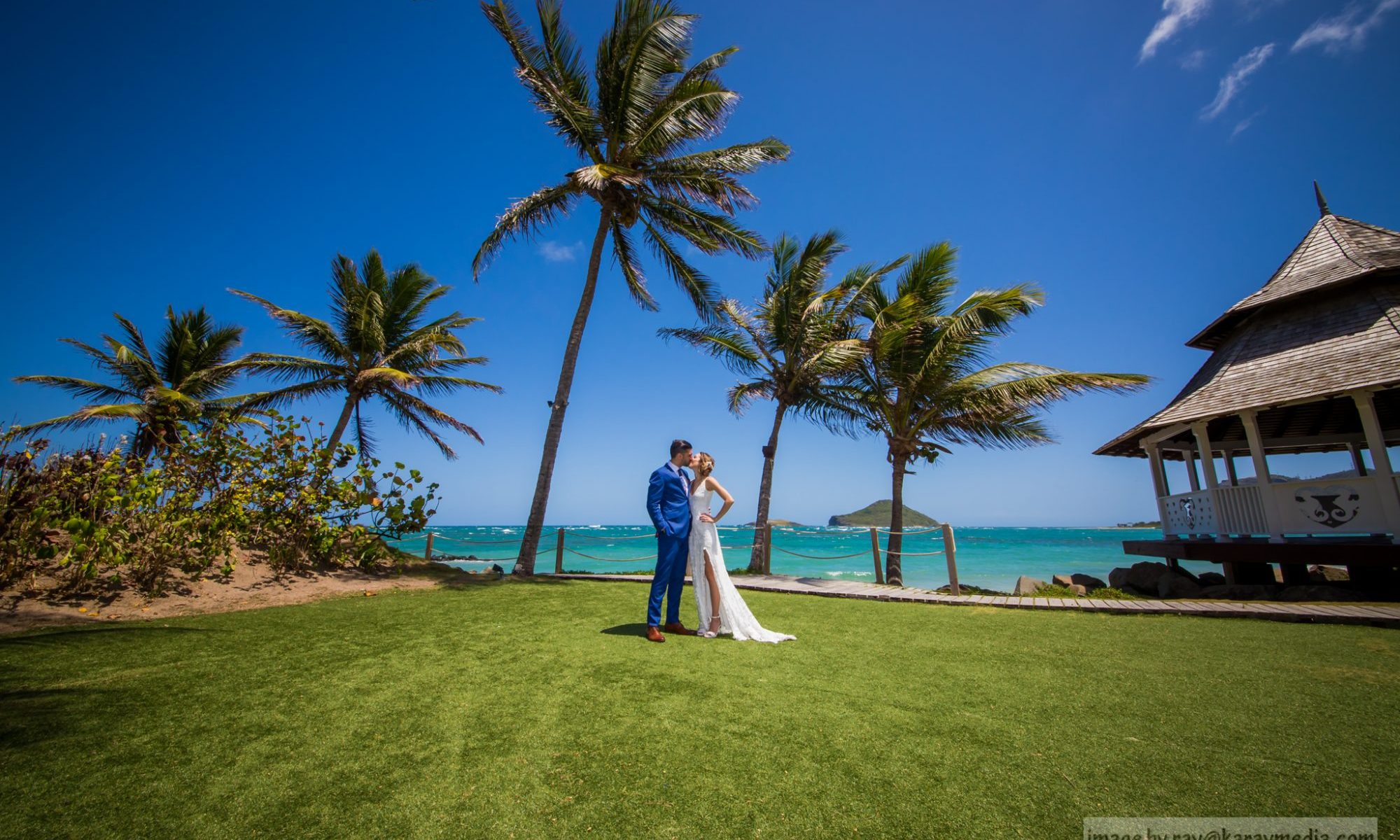 Coconut Bay Wedding Photographer in St. Lucia