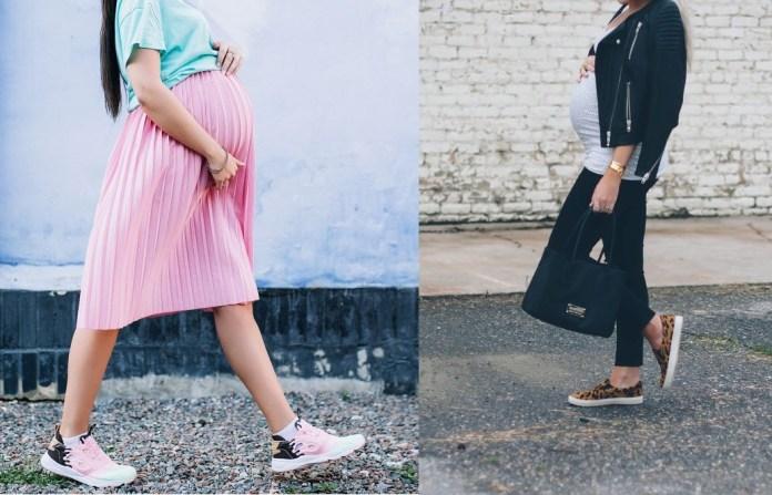 كيفية اختيار الحذاء المناسب لفترة الحمل