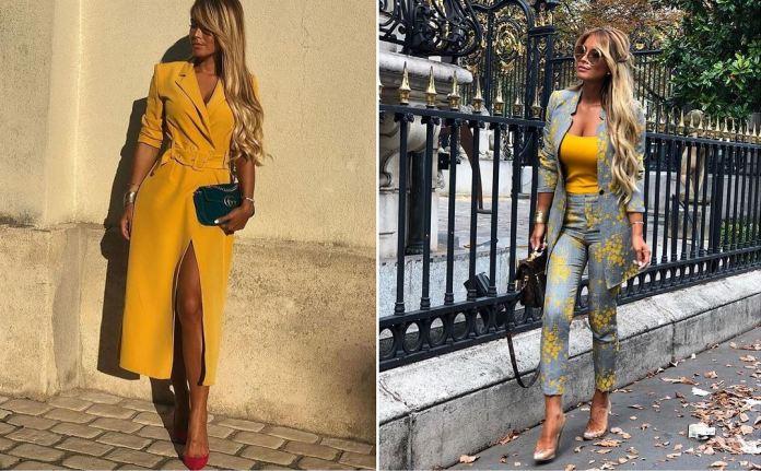 أفكار لارتداء اللون الأصفر