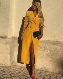 أفكار لارتداء اللون الأصفر 7