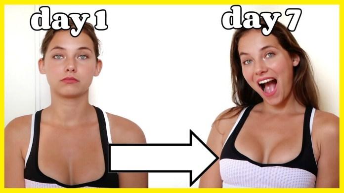 طرق تكبير الثدي بعد الدايت