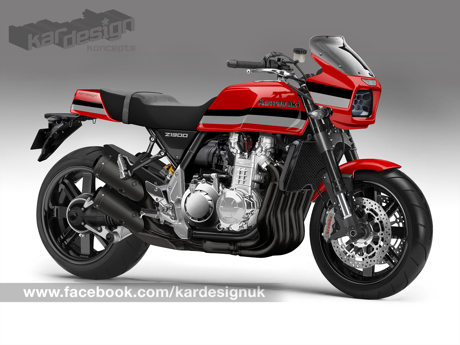 Z1300 Revisited Kawasaki Please Build This Thanks Kardesign