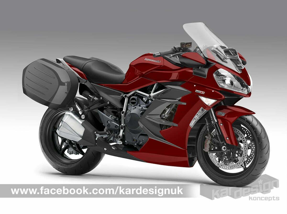 Kawasaki Supercharged Motorcycle