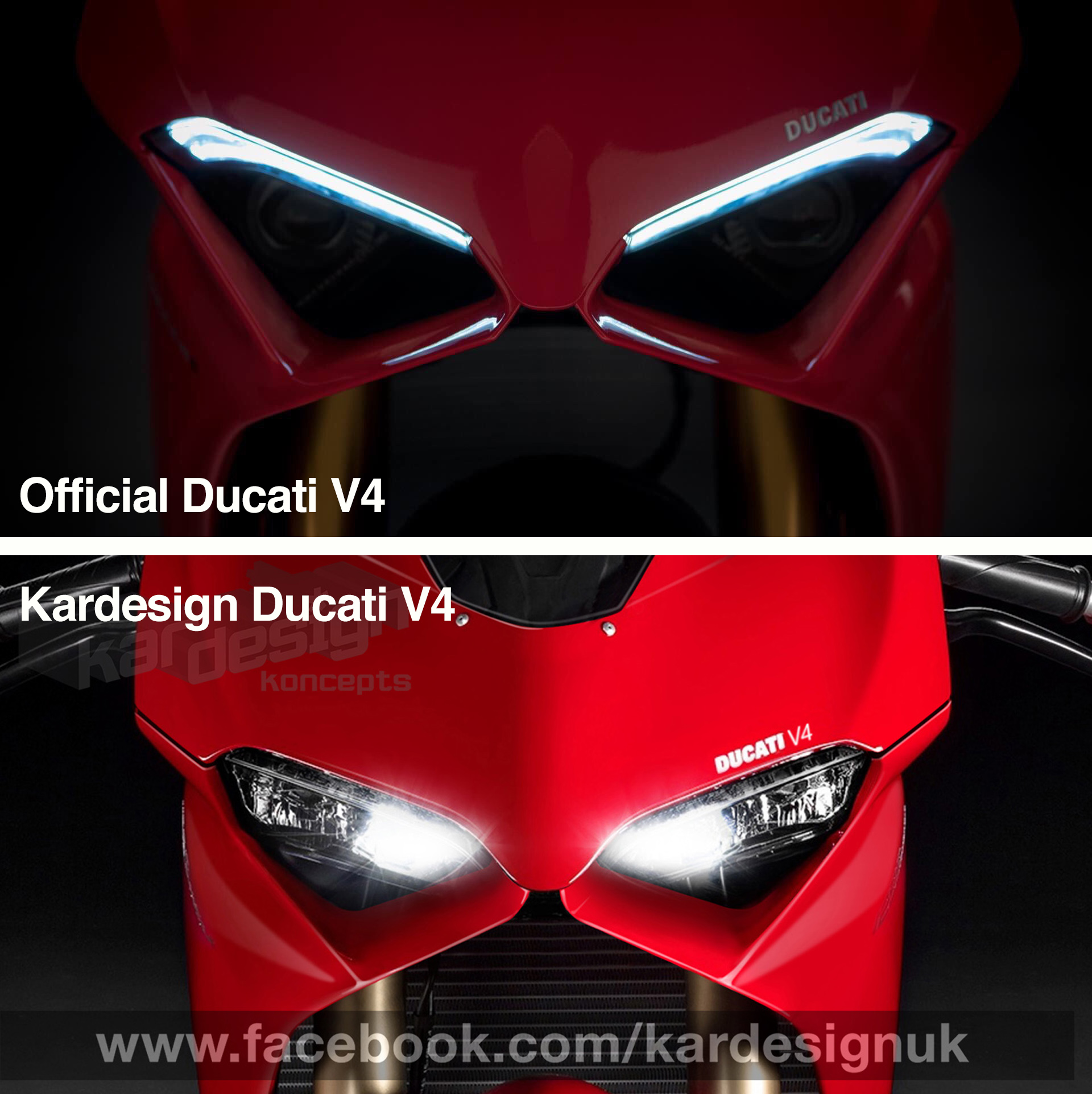 Panigale V4 headlights