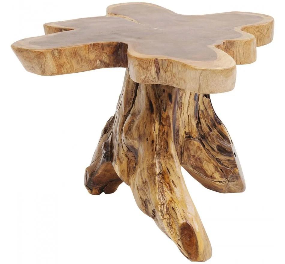 table basse souche d arbre kare design