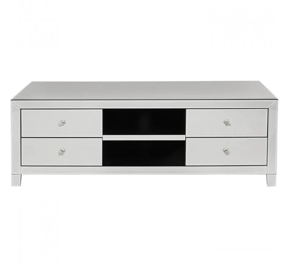 meuble tv luxury argent kare design