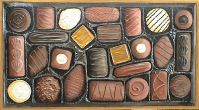 Chocoholics Delight - Mixed Media 44.5 x 79.5 cms